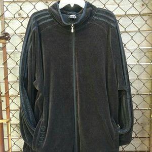 Men's large ADIDAS Black track jacket